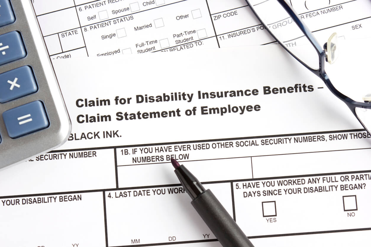 Disability Benefits claim